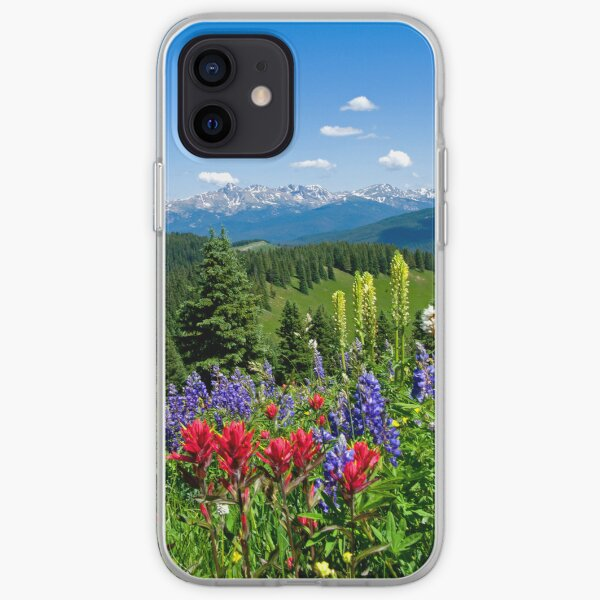 Mountain Wildflowers iPhone Soft Case