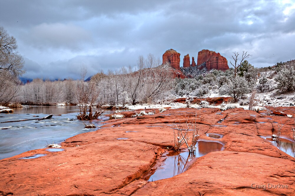 Cathedral In Snow by Craig Durkee