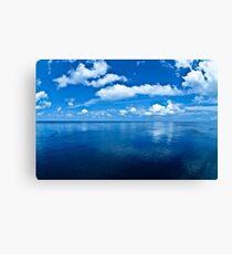 Over a Blue Horizon Canvas Print