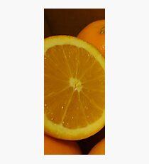 Open Orange Panel #1 of 3 (Please read description) Photographic Print