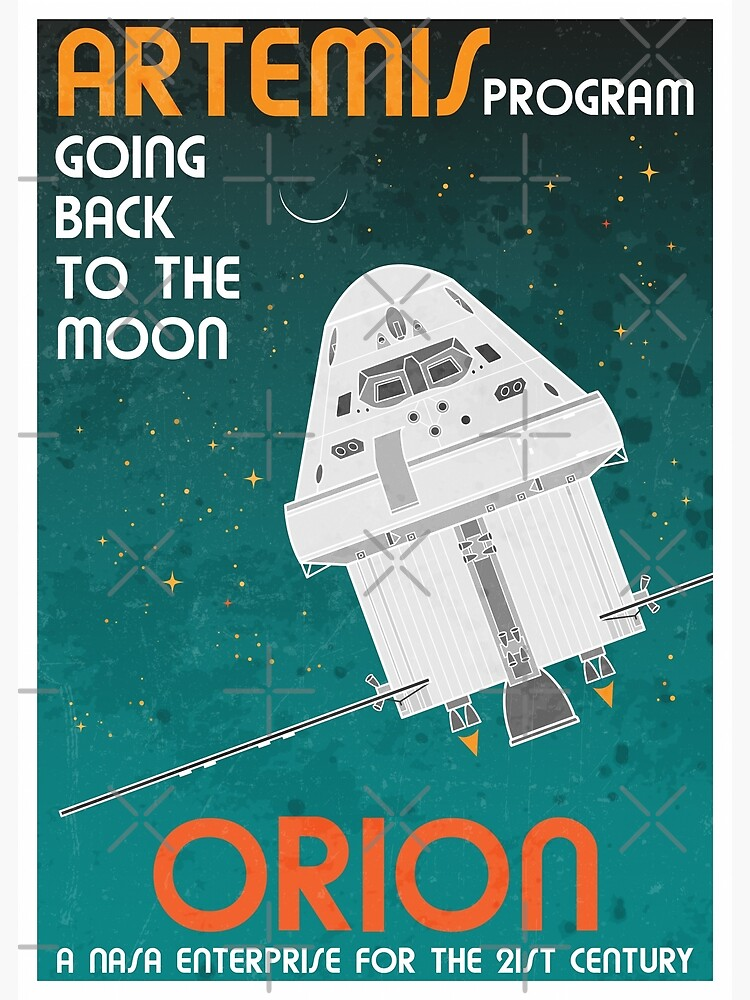 Orion. Artemis Program: Going Back To The Moon by BGALAXY