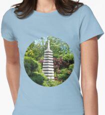Japanese Garden Womens Fitted T-Shirt