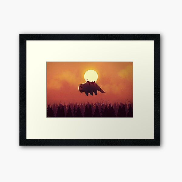 The End of All Things Framed Art Print