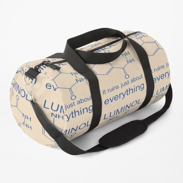 A Striking Glow - Luminol It Ruins Just About Everything Duffle Bag