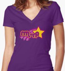 rm -rf * Women's Fitted V-Neck T-Shirt