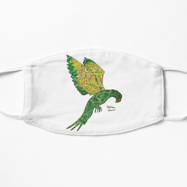 Green bird Mask