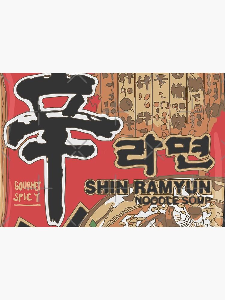 Nong Shim Ramyun by AnnaYenardi