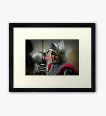 Time to go, my friend! Framed Print