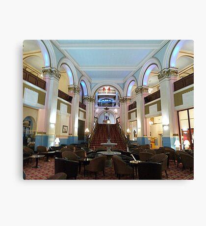The Grand Hotel. Scarborough. Canvas Print