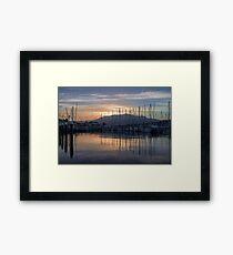 Yachts Framed Print