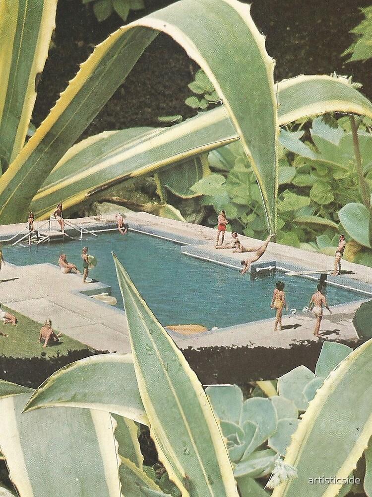 Swimming pool fun by artisticside
