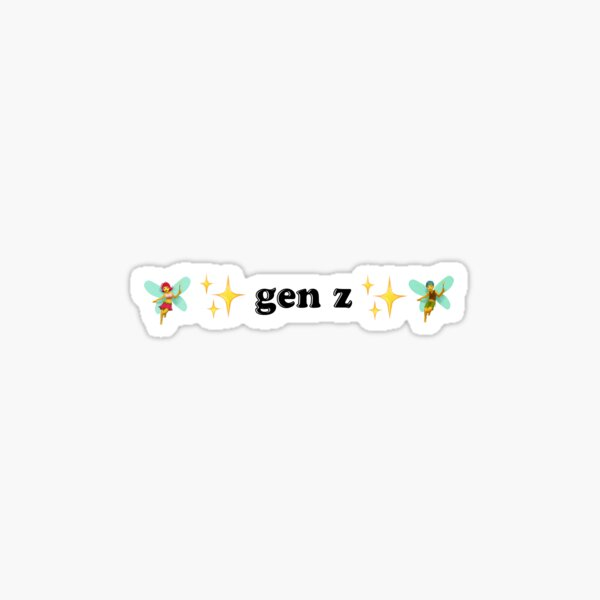 gen z Sticker