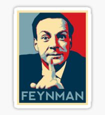 Richard P. Feynman, Theoretical Physicist Sticker
