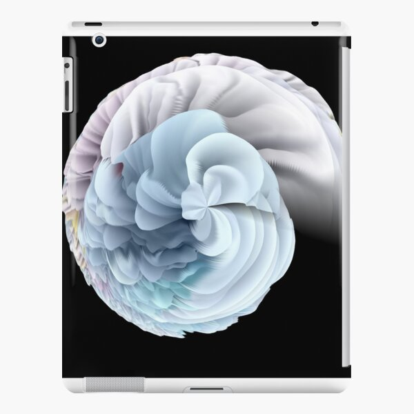 Trippy creamy spiral  iPad Snap Case