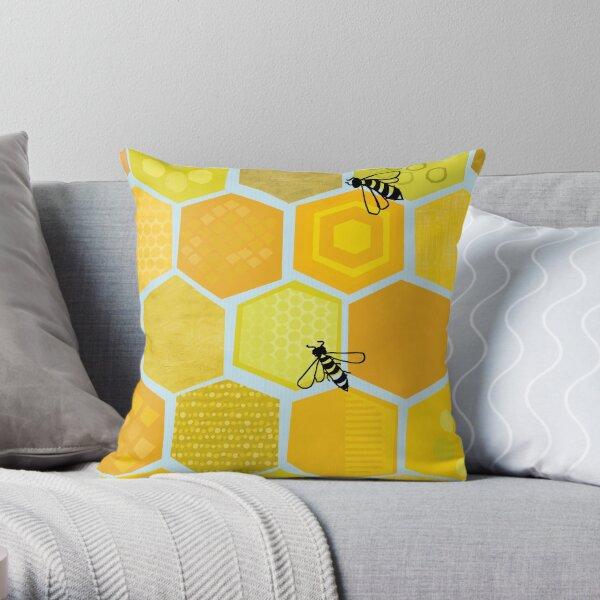 Bienen Dekokissen