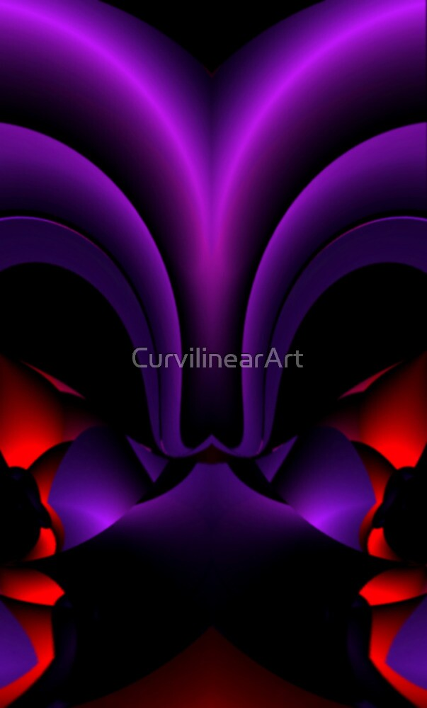 Curvilinear Project No. 36 ( Face To Face - Look Harder ) by CurvilinearArt