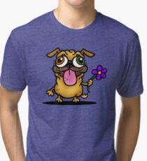 PUG PUG PUG Tri-blend T-Shirt