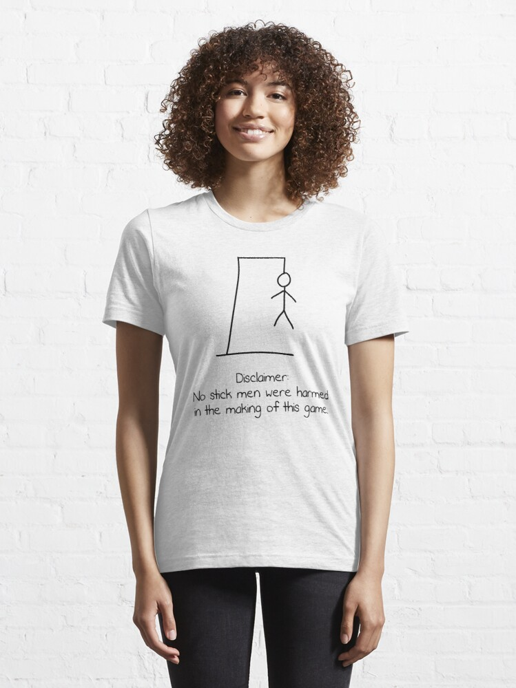 Alternate view of Hangman (Light Version) Essential T-Shirt