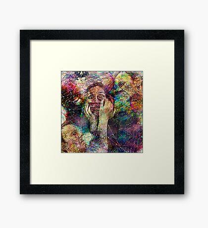 You Promised Me Forever (Art & Poetry) Framed Print