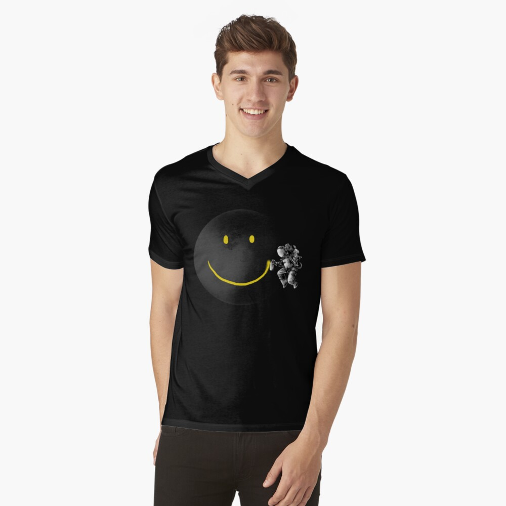 Make a Smile V-Neck T-Shirt
