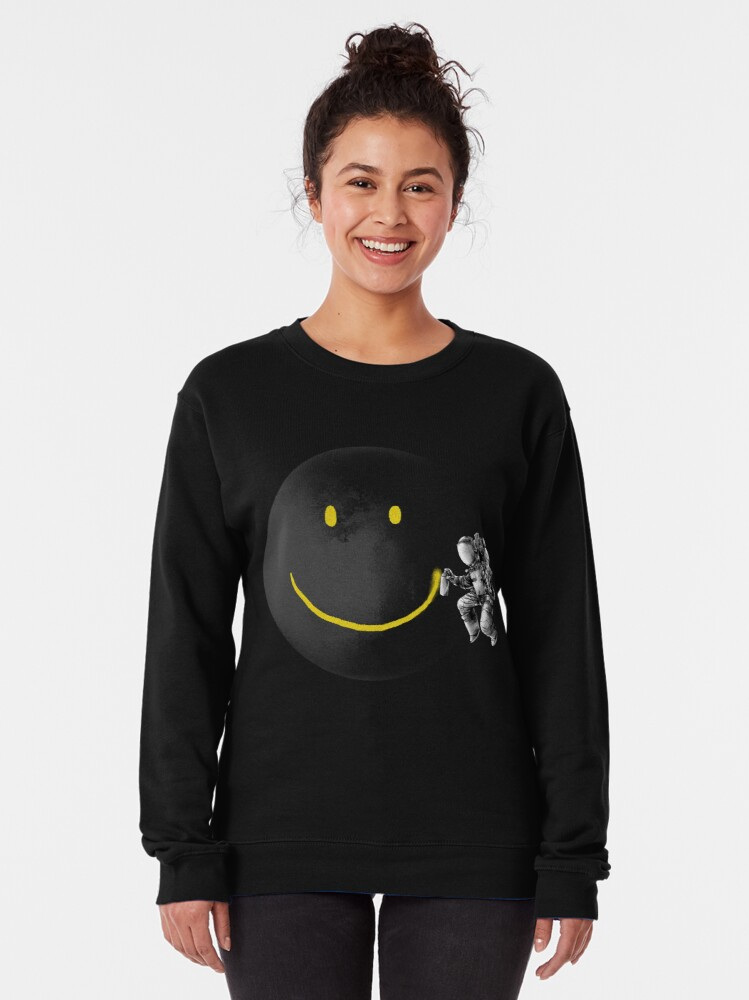 Alternate view of Make a Smile Pullover Sweatshirt