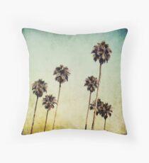 Palm Trees II Throw Pillow