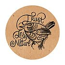 Trust in Nature Little Bird - Natural by Helen Aldous