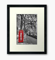 London Phone  Framed Print