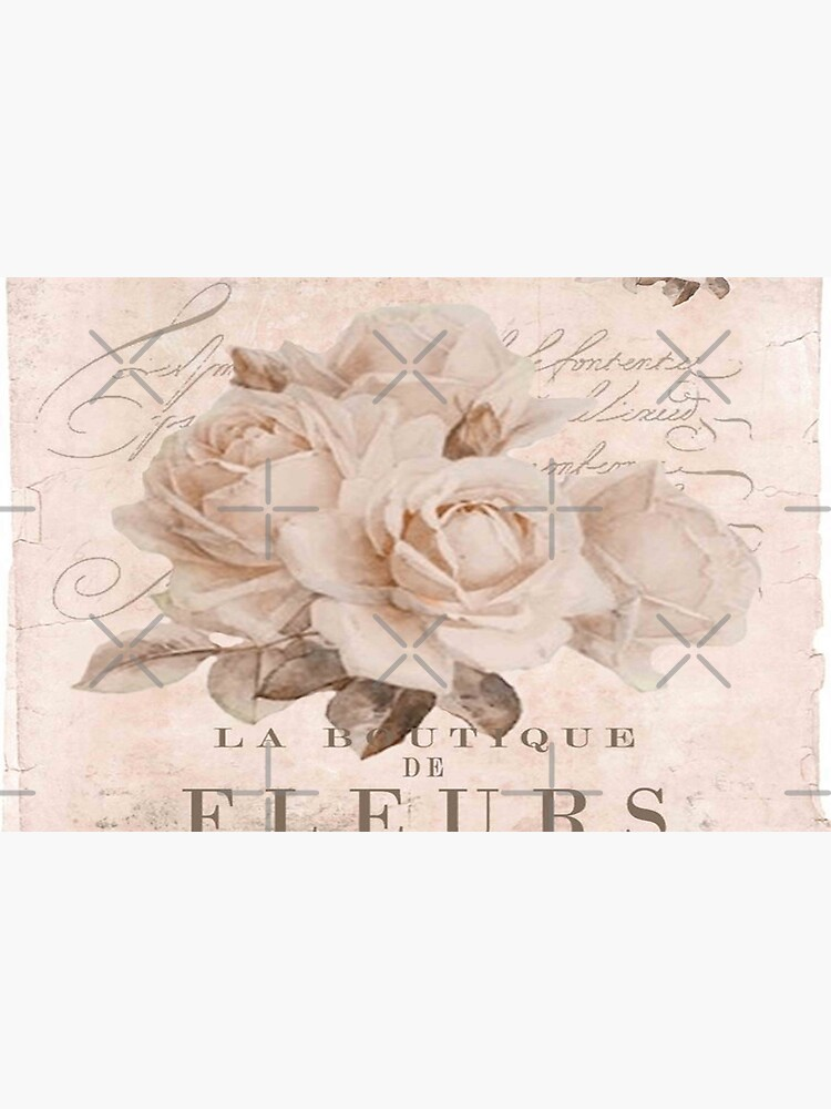 french vintage roses by love999