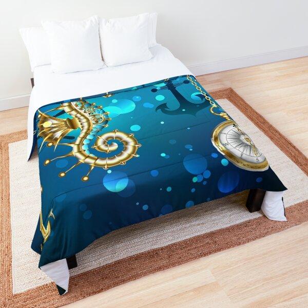 Submerged Mechanical Seahorse Comforter