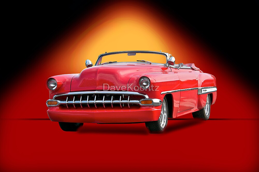 1954 Chevrolet Custom Bel Air Convertible by DaveKoontz