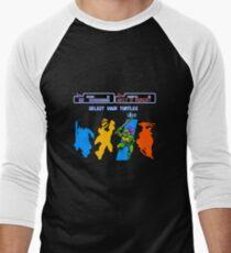 Turtles in Time - Donatello Men's Baseball ¾ T-Shirt