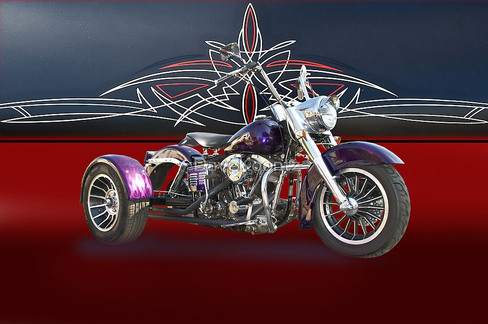 1979 Harley-Davidson Shovelhead Trike by DaveKoontz