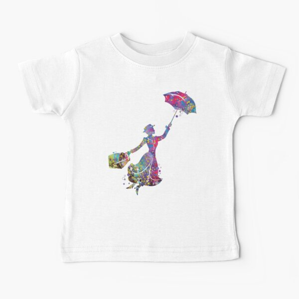 Mary Poppins Camiseta para bebés