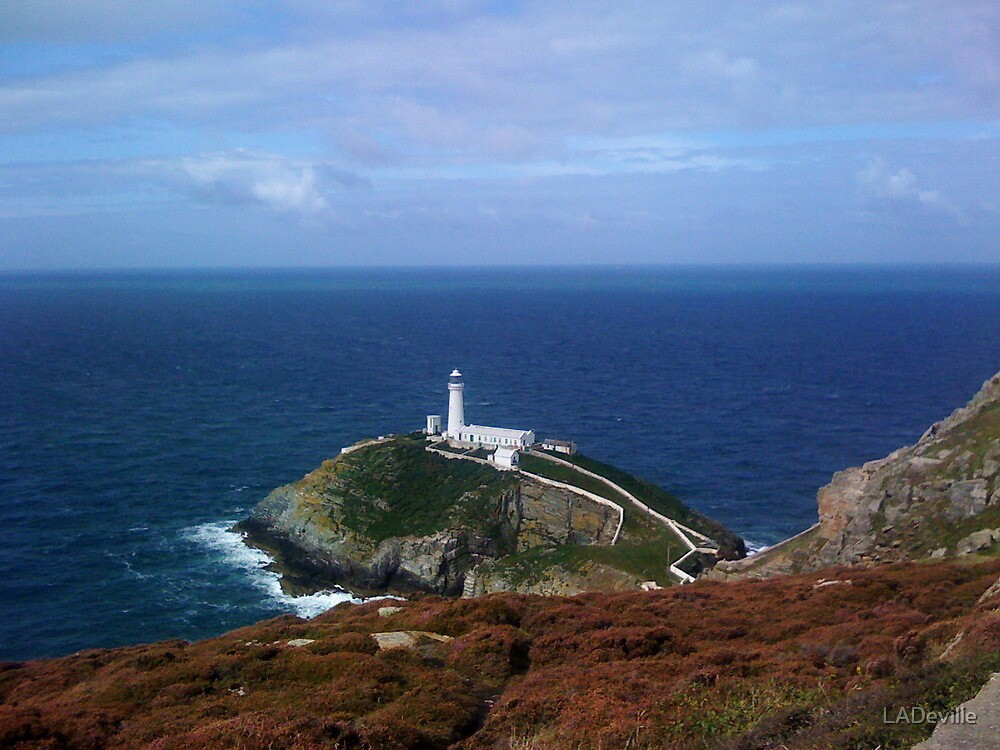 South Stack Lighthouse. by LADeville