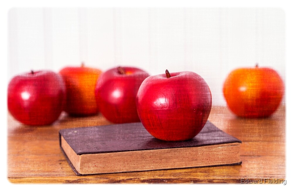Back to School Apples by Edward Fielding