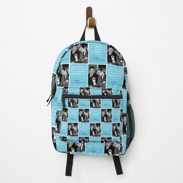 Alfred Hitchcock quote Backpack