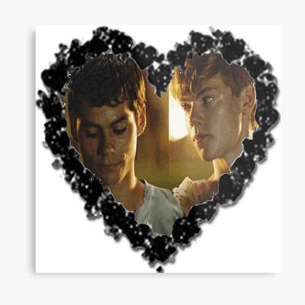 Newtmas [Hearted] Metal Print
