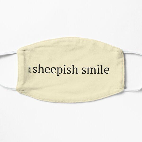 sheepish smile Mask