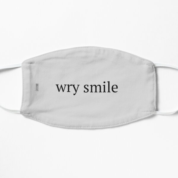 wry smile Mask
