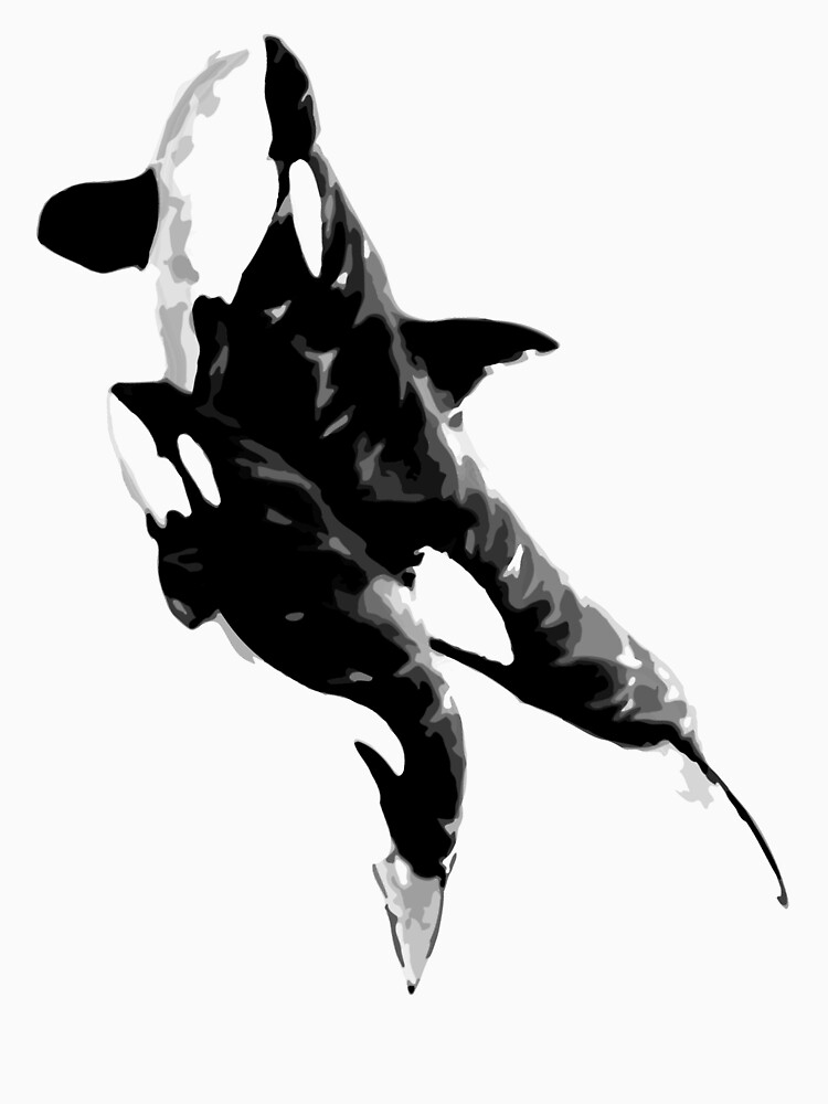 orcas t-shirt by parko