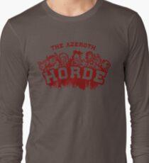 Team Horde  Long Sleeve T-Shirt