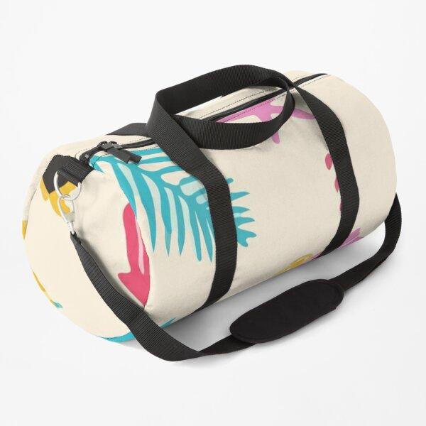 Beach objects pattern Duffle Bag