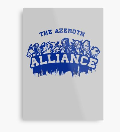 Team Alliance Metal Print