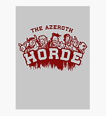 Team Horde  Photographic Print