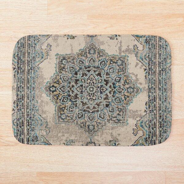 Antique carpet Bath Mat