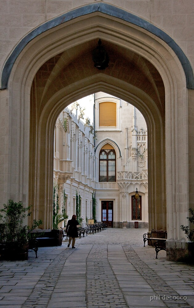Court Yard Archway by phil decocco