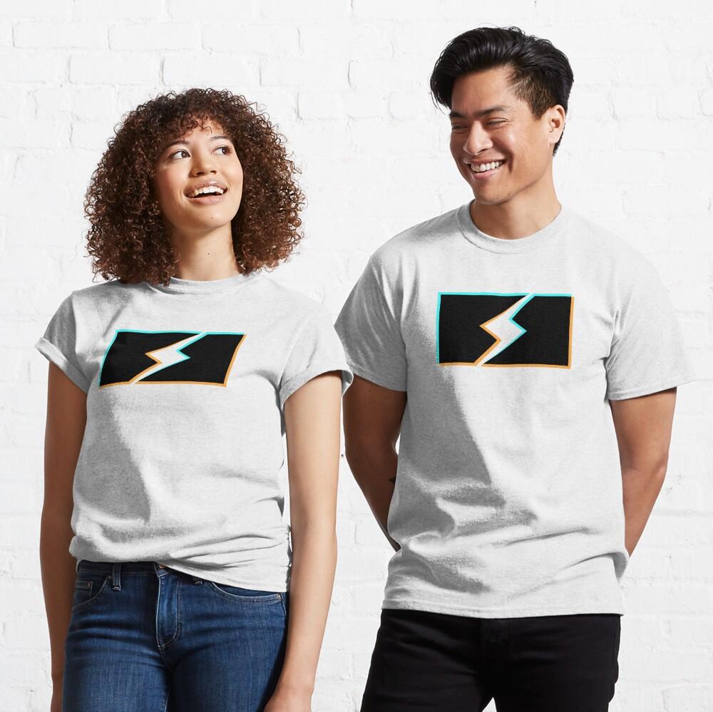 bolt stencil holo graphic Classic T-Shirt