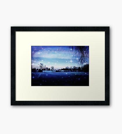 Winter's Magic © Framed Print
