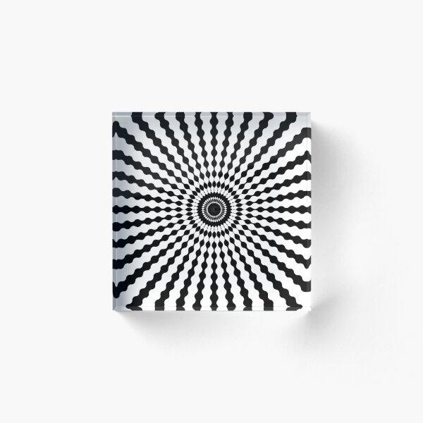 Wake up illusions Acrylic Block